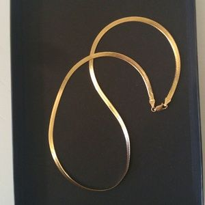 Vintage Solid Gold Chain